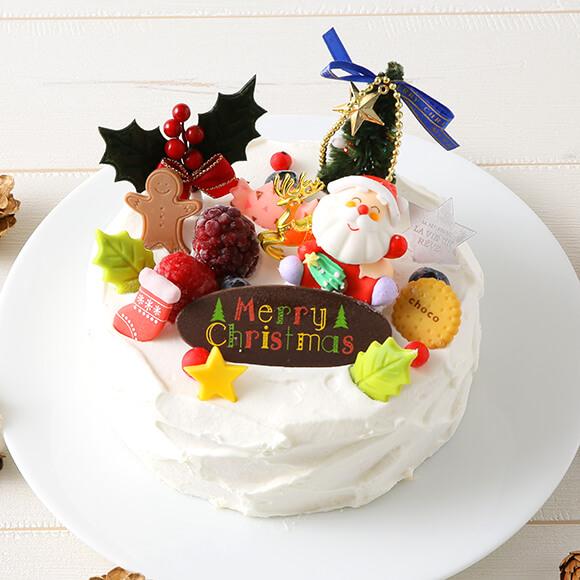 【パティスリーラヴィアンレーヴ】クリスマスショートケーキ