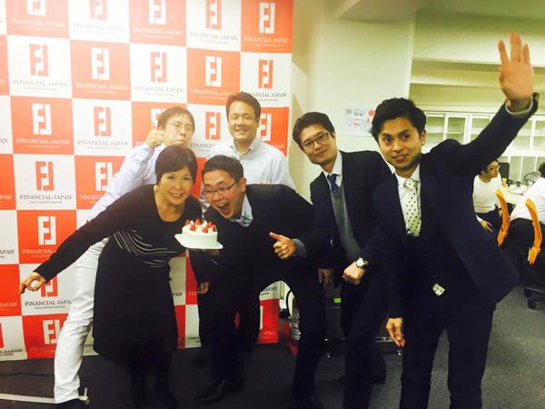 ファイナンシャル・ジャパン株式会社さまお祝いイメージ