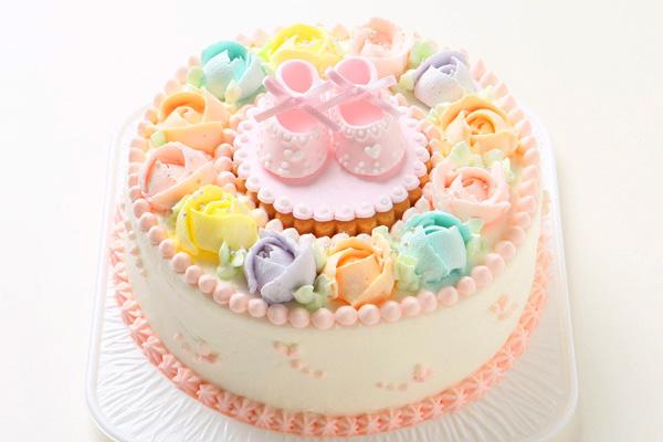 ベビーシューズケーキ 5号 15cmの画像2枚目