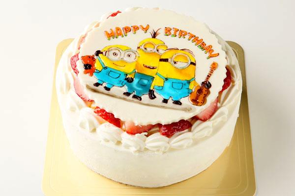 キャラクターイラストケーキ 4号 12cmの画像2枚目