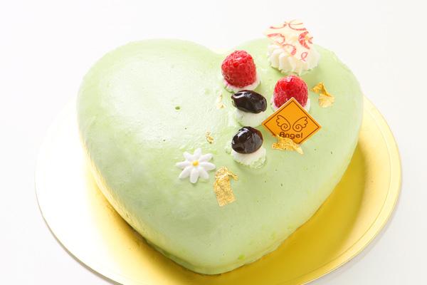 抹茶のケーキ 14.5cm×14cm×5cmの画像1枚目