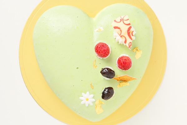 抹茶のケーキ 14.5cm×14cm×5cmの画像2枚目