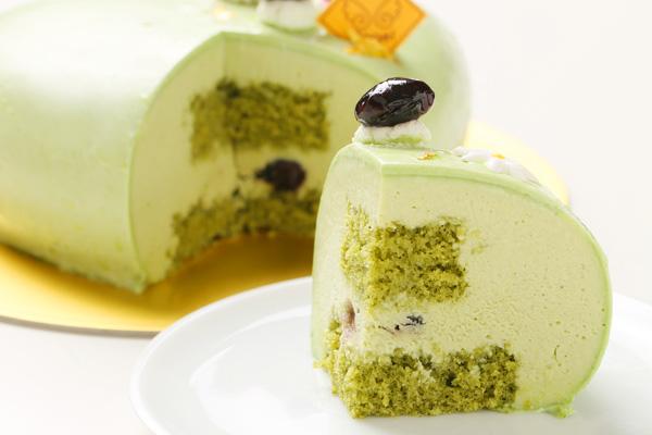 抹茶のケーキ 14.5cm×14cm×5cmの画像5枚目