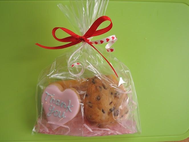 プチギフト Thankyouアイシングクッキー&きび糖チョコチップクッキー  10セット