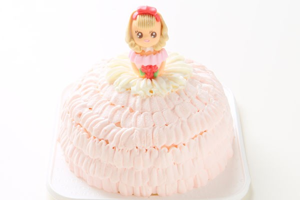 豆乳クリームのドールケーキ