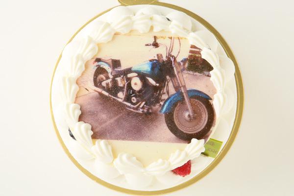 生クリームフォトケーキ 5号 15cmの画像1枚目
