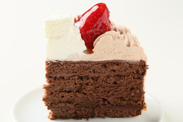 チョコクリームフォトケーキ 5号 15cmの画像4枚目