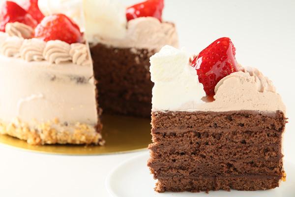 チョコクリームフォトケーキ 5号 15cmの画像5枚目