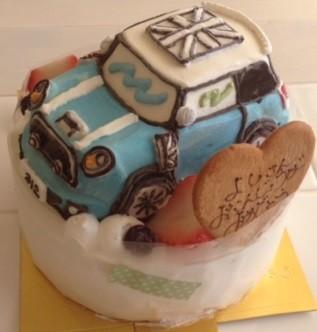アイスの乗り物立体ケーキ(土台あり)5号の画像4枚目