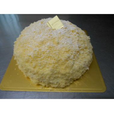 さっぱりとした、上品な味わい!ホワイトレアチーズ 2層のレアチーズ・タルトのせ 15cm