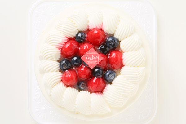 いちごの生デコレーションケーキ 5号 15cmの画像2枚目
