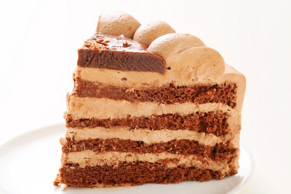チョコレート生クリームデコレーション 5号 15cmの画像4枚目