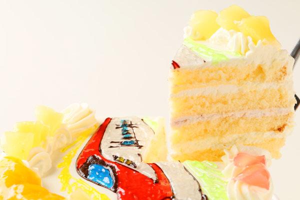イラスト2体まで イラストケーキ 5号 15cmの画像3枚目