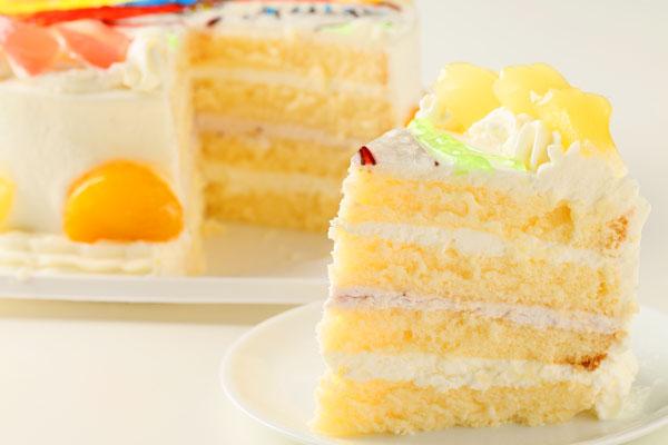 イラスト2体まで イラストケーキ 5号 15cmの画像5枚目