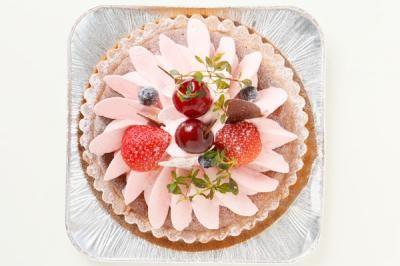 木苺のチーズケーキ 5号 15cmの画像2枚目