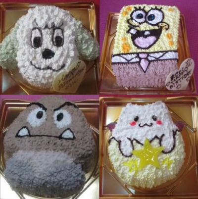 立体ケーキ(5〜6号サイズ)