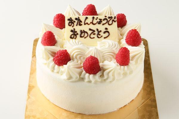 生クリームデコレーションケーキ 4号 12cm
