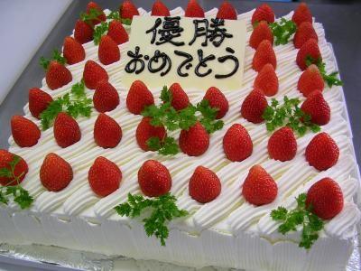 【送料無料】パーティー用大型ケーキ スクウェア