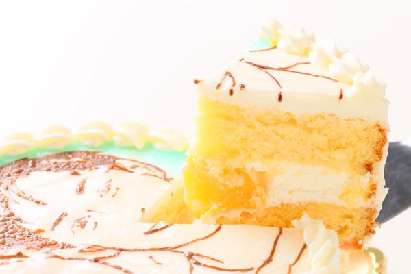 似顔絵デコレーションケーキ 4号 12cmの画像3枚目