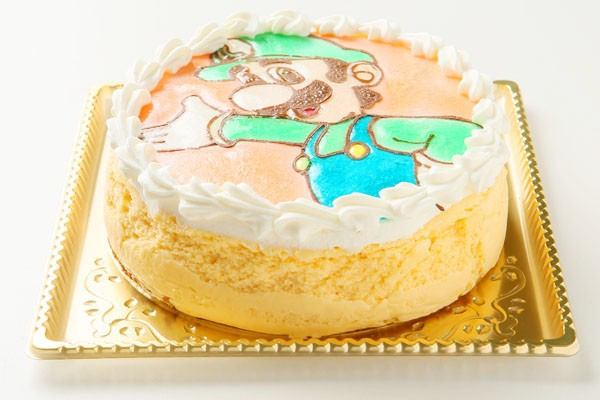 ガトーフロマージュのキャラクターケーキ 4号 12cmの画像5枚目