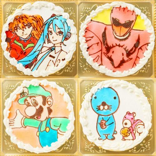 ガトーフロマージュのキャラクターケーキ4号(キャラ1体のみ)