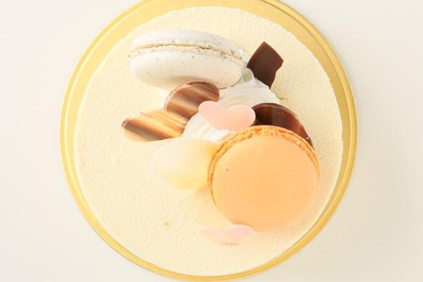 ホワイトチョコと紅茶のムース 5号 15cmの画像2枚目