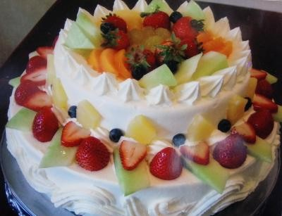 神奈川県川崎市川崎区 配送限定 パーティー用大型ケーキ