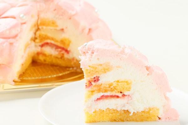 プリンセスケーキ「眠り姫」 5号15cm(ピンク)の画像5枚目