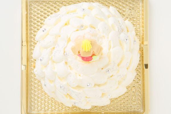プリンセスケーキ「眠り姫」 5号15cm(ホワイト)の画像2枚目