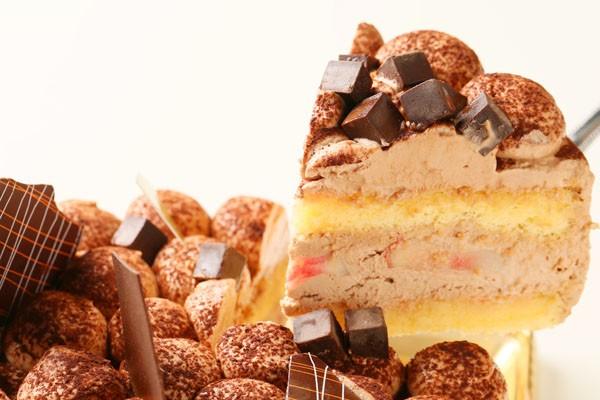 チョコレートケーキ 4号 12cmの画像3枚目