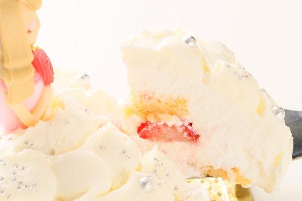 プリンセスケーキ「眠り姫」 5号15cm(ホワイト)の画像3枚目