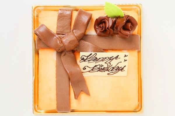 プレゼントボックスケーキ  H 15×15cm