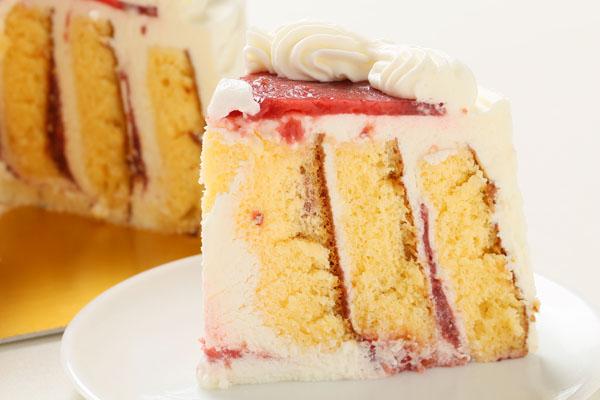 小麦粉除去 米粉の生クリームデコレーションケーキ +似顔絵 4号 12cmの画像5枚目