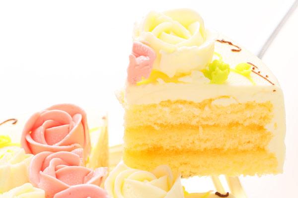 バタークリームデコレーション 5号 15cmの画像3枚目