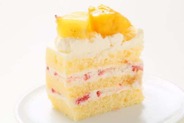 スクエア型フォト生クリームデコレーションケーキ 15cmの画像3枚目