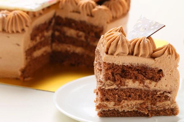 丸型フォトチョコ生クリームデコレーションケーキ4号の画像5枚目
