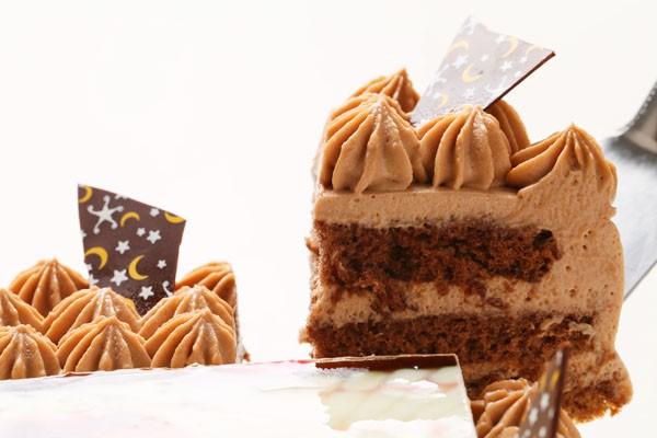 丸型フォトチョコ生クリームデコレーションケーキ4号の画像3枚目