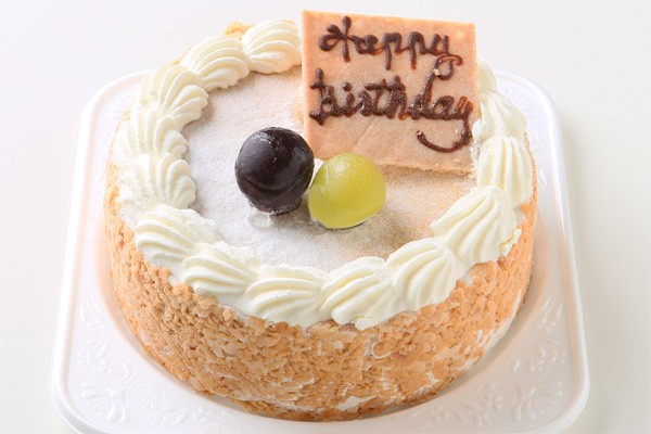 ブルーベリーのレアチーズケーキ 5号 15cmの画像1枚目