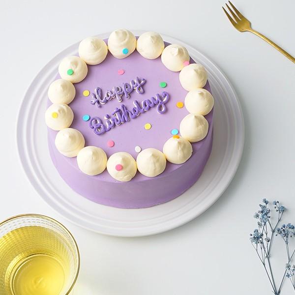 センイルケーキ風レタリングケーキ4号 【センイルケーキ】の画像1枚目