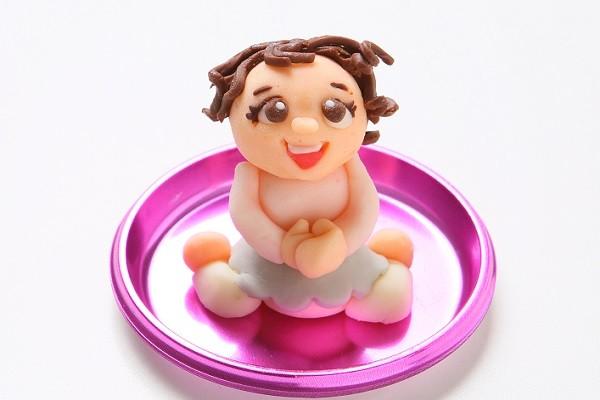 チョコ似顔絵人形