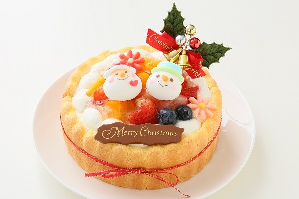 クリスマスケーキ2017 Xmasファーストバースデーケーキ 4号 12cmの画像2枚目