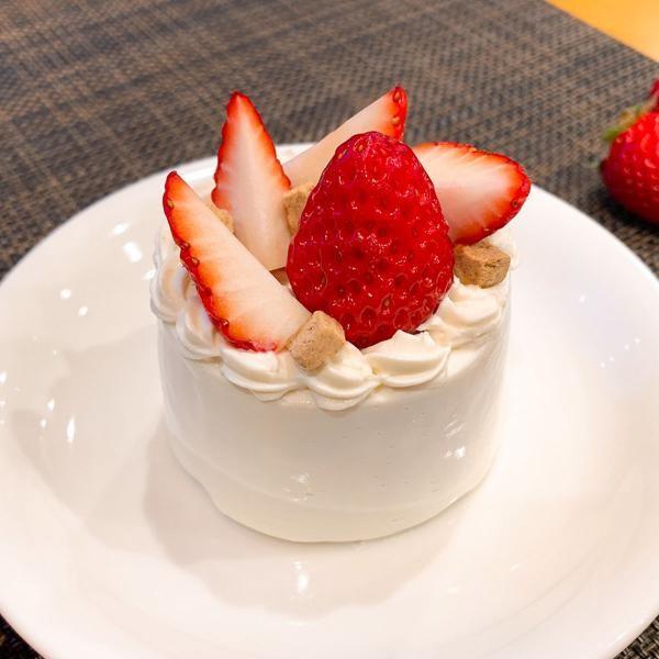 いちご の ショート ケーキ