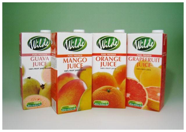 【父の日】 ジュース ギフト 100% ストレート(果汁100%)紙パック 1000ml x 6パック グアバ、マンゴー、オレンジ、ルビーグレープフルーツ/10P26Mar16 南アフリカ ワイルド
