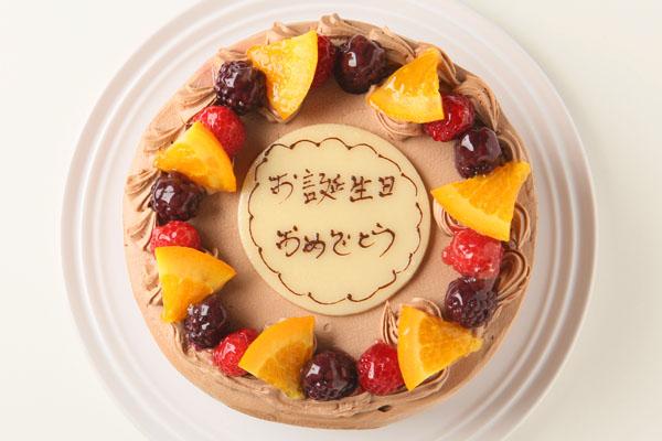 高級クーベル生チョコケーキ 5号 15cmの画像2枚目