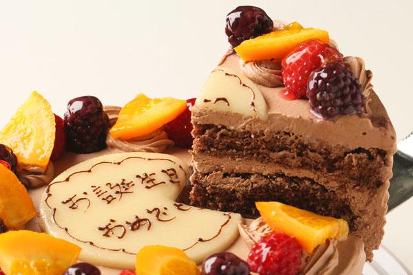 高級クーベル生チョコケーキ 5号 15cmの画像3枚目