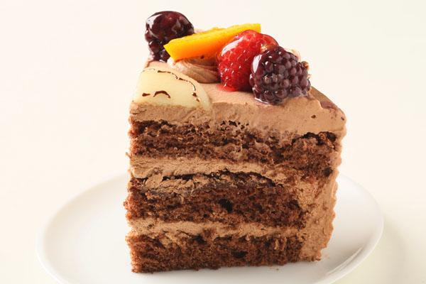 高級クーベル生チョコケーキ 5号 15cmの画像4枚目