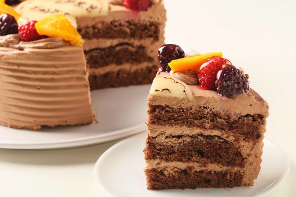 高級クーベル生チョコケーキ 5号 15cmの画像5枚目