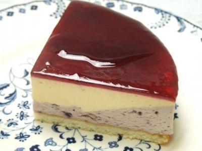 2層のムース~ブルーベリーアイスケーキ  19cmの画像2枚目