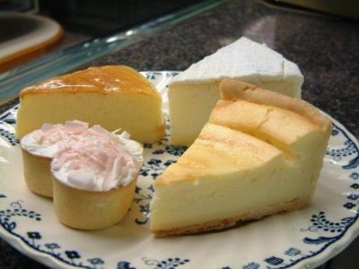送料無料!4種類のチーズケーキ 8個入