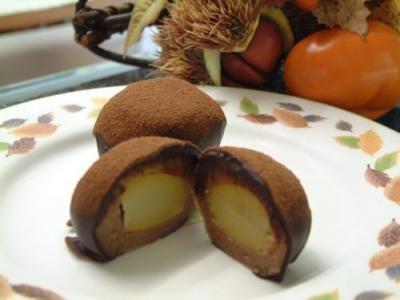 ちょっと大人の チョコっとマロン5個入の画像3枚目